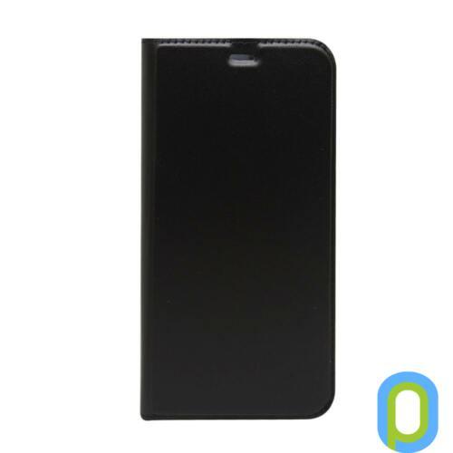 Huawei Y7 Prime (2018) oldalra nyiló tok, Fekete