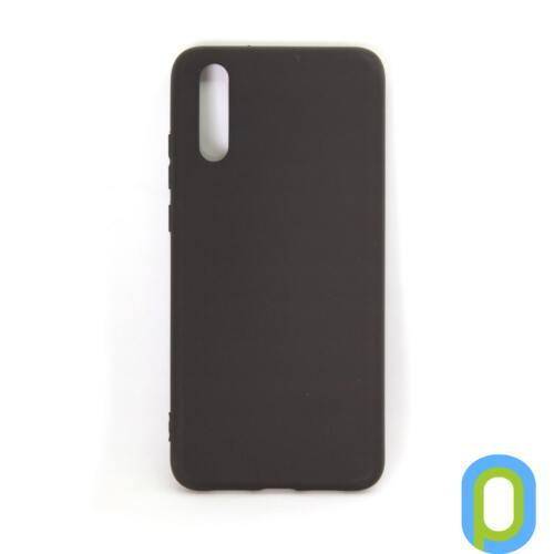 Huawei P20 vékony szilikon hátlap, Fekete