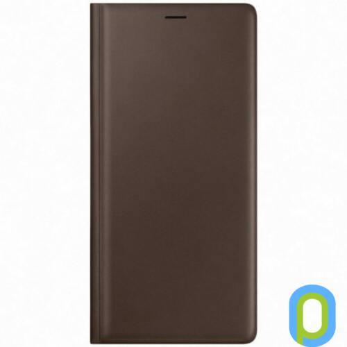 Samsung Galaxy Note 9 bőr book tok,Barna