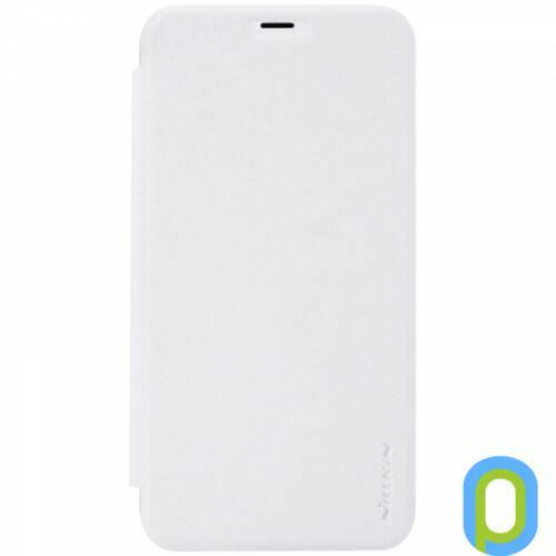 Nillkin Sparkle iPhone XS flip tok, Fehér