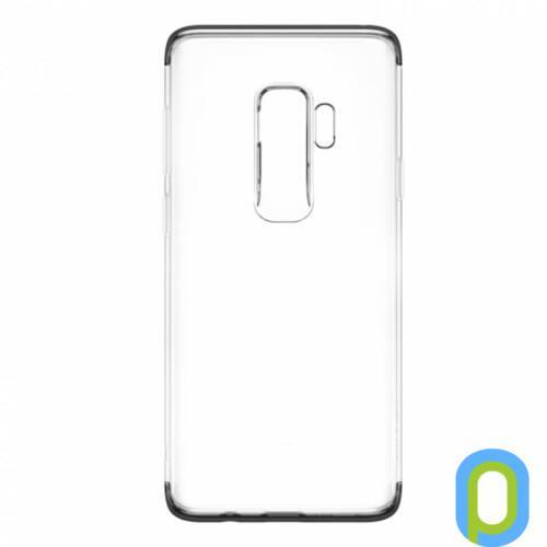 Baseus Armor szilikon hátlap, Galaxy S9+, Fekete