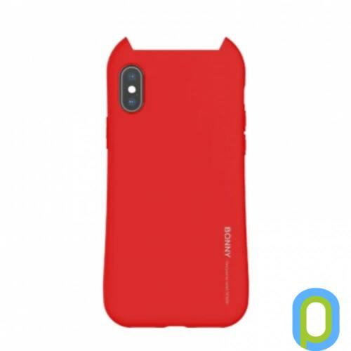Hana Bonny szilikon hátlap, Huawei P20 Lite,Piros