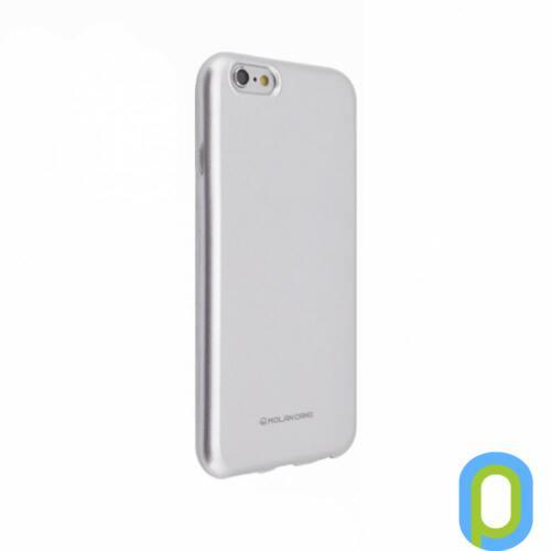 Hana Pearl szilikon hátlap, iPhone XS/X, Ezüst