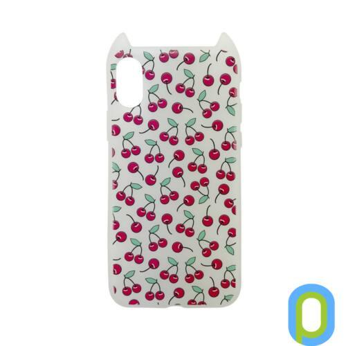 Hana Pop szilikon hátlap, iPhone XS/X, Gyümölcs