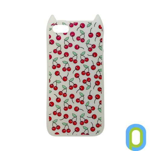 Hana Pop szilikon hátlap, iPhone SE, Gyümölcs