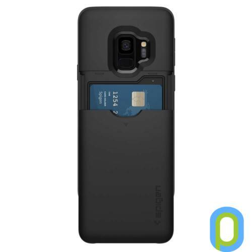 Spigen Slim Armor CS hátlap, Galaxy S9, Fekete