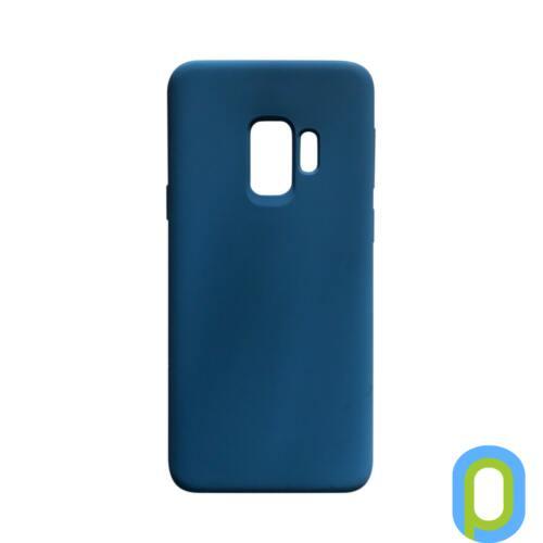 Premium szilikon tok, Samsung S9 (G960), Sötétkék