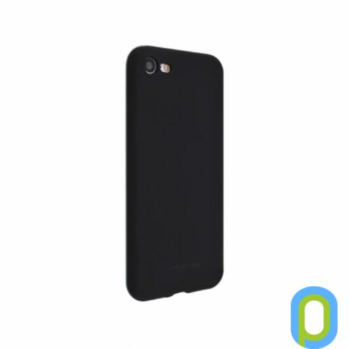 Hana SF matt szilikon hátlap, Galaxy S9, Fekete