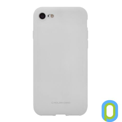 Hana SF matt szilikon hátlap, Galaxy S9+, Vszürke