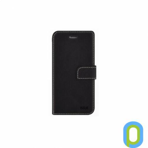 Hana Diary flip tok, Samsung Galaxy S10+, Fekete
