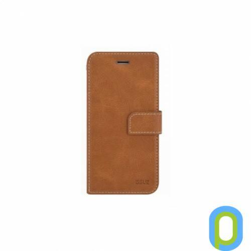 Hana Diary flip tok, Samsung Galaxy S10+, Barna