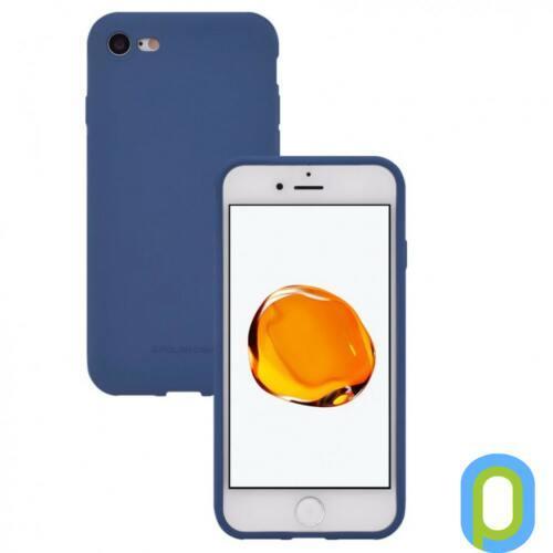 Hana SF matt szilikon hátlap, Galaxy S10+, Kék