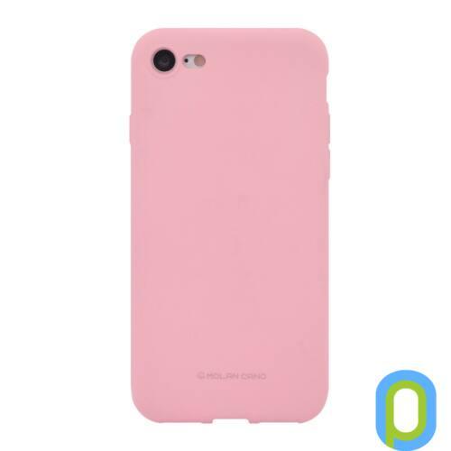 Hana SF matt szilikon hátlap, Galaxy S10+, Pink