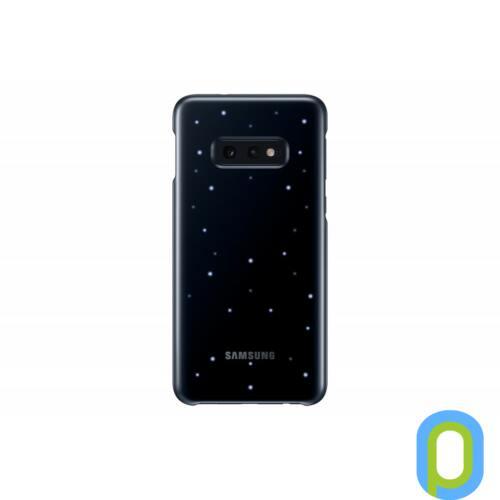 Samsung Galaxy S10 E LED cover hátlap, Fekete