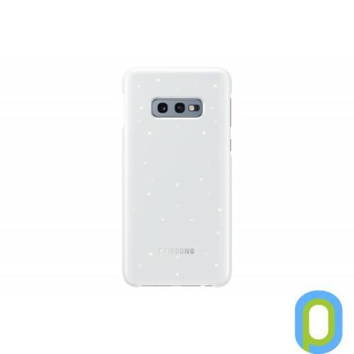 Samsung Galaxy S10 E LED cover hátlap, Fehér