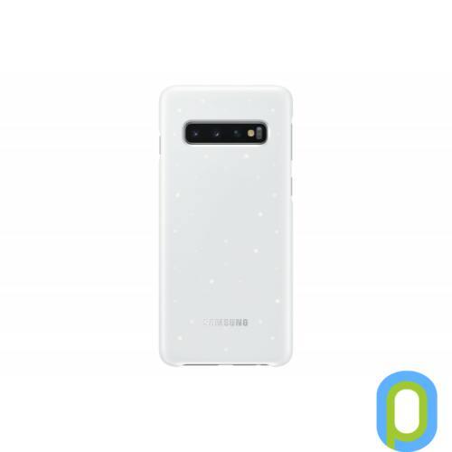 Samsung Galaxy S10 LED cover hátlap, Fehér