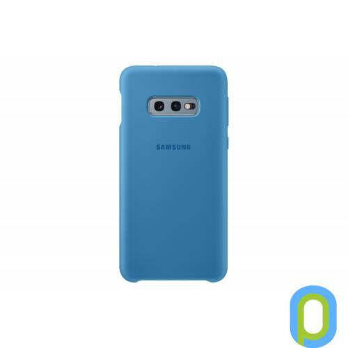 Samsung Galaxy S10 E szilikon védőtok, Kék