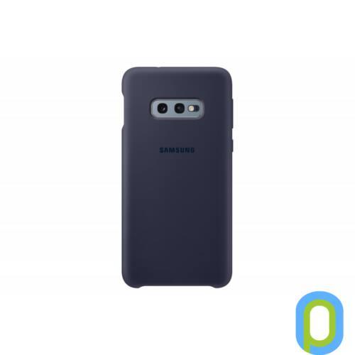 Samsung Galaxy S10 E szilikon védőtok, Sötétkék