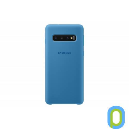 Samsung Galaxy S10 szilikon védőtok, Kék