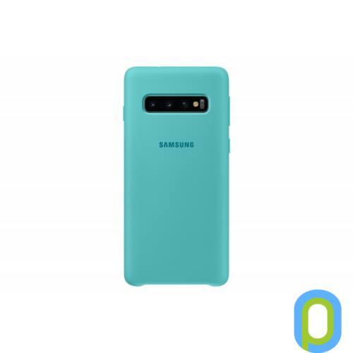 Samsung Galaxy S10 szilikon védőtok, Zöld