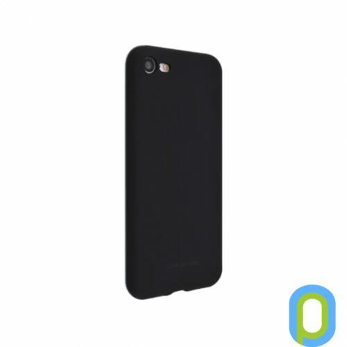 Hana SF matt szilikon hátlap, Galaxy A40, Fekete