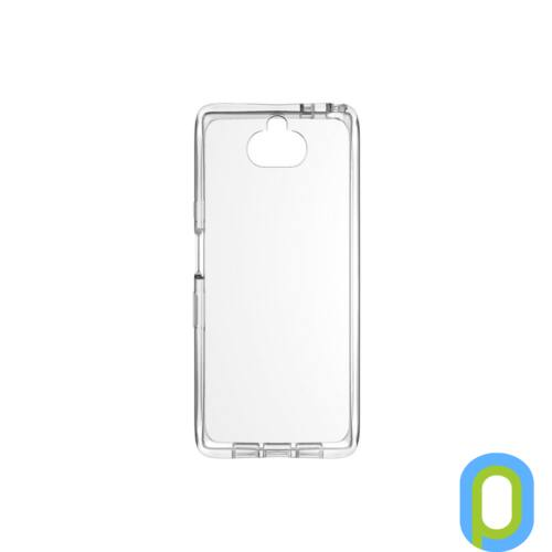 Sony Xperia 10 vékony szilikon hátlap, Átlátszó