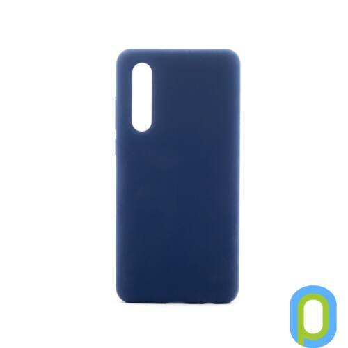 Premium szilikon tok, Samsung S10+, Kék