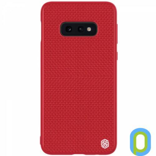 Nillkin Textured ütésálló hátlap, Galaxy S10E,Piros
