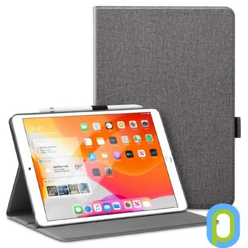 Apple iPad 10.2 (2019) tok Szürke, ceruza tartóval