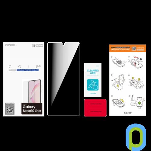 Galaxy Note 10 Lite Üveg képernyővédő