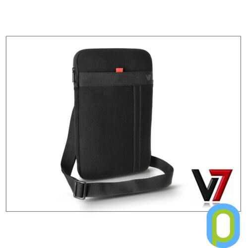 """Apple iPad Air + univerzális tablet táska 11"""" méretű készülékig - V7 Memory Foam Sleeve - black"""
