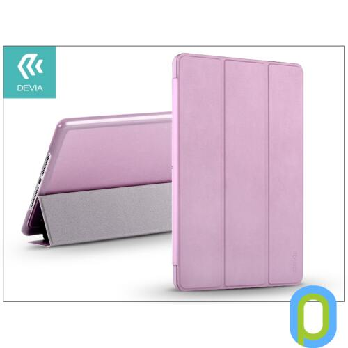 Apple iPad Air 2 védőtok (Smart Case) on/off funkcióval - Devia Original - pink