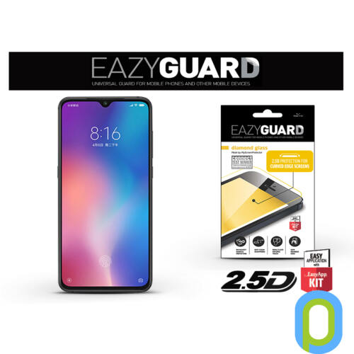Xiaomi Mi 9 gyémántüveg képernyővédő fólia - Diamond Glass 2.5D Fullcover - fekete