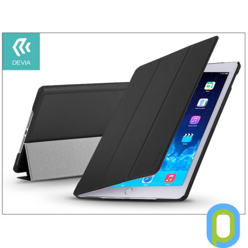 Apple iPad Air 2 védőtok (Smart Case) on/off funkcióval - Devia Original - black