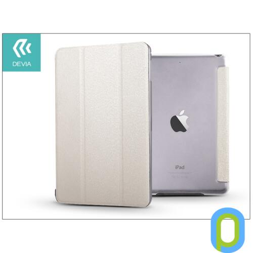 Apple iPad Mini 4/iPad Mini (2019) védőtok (Smart Case) on/off funkcióval - Devia Light Grace - white