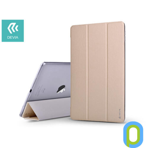 Apple iPad Pro 12.9 (2018) védőtok (Smart Case) on/off funkcióval - Devia Light Grace - gold