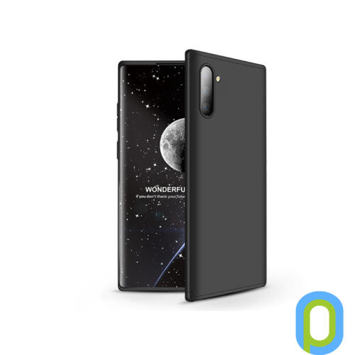 Samsung N970F Galaxy Note 10 hátlap - GKK 360 Full Protection 3in1 - fekete