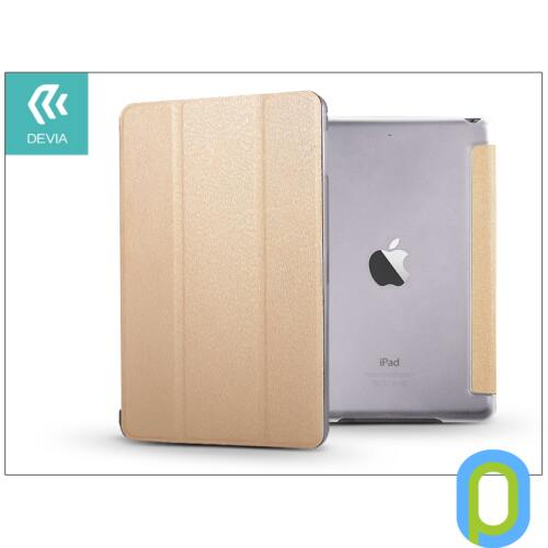 Apple iPad Mini 4/iPad Mini (2019) védőtok (Smart Case) on/off funkcióval - Devia Light Grace - gold