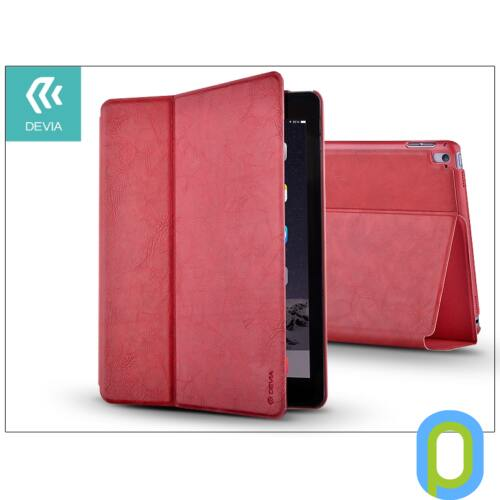 Apple iPad Air 2/iPad Pro 9.7 védőtok (Book Case) on/off funkcióval - Devia Elite - red