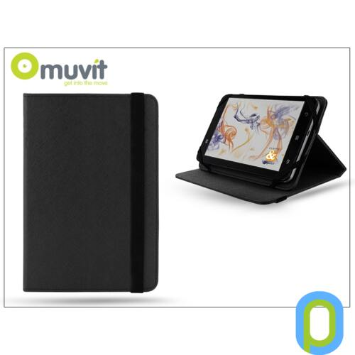 """Muvit univerzális tok 10"""" méretű tablet készülékekhez - Muvit Universal - black"""