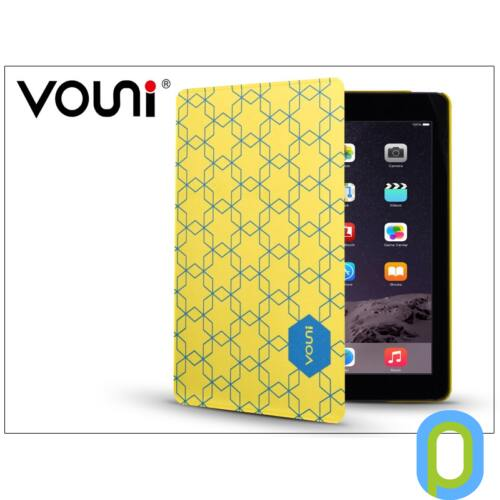 Apple iPad Mini 2/Mini 3 védőtok (Book Case) on/off funkcióval - Vouni Motor - yellow