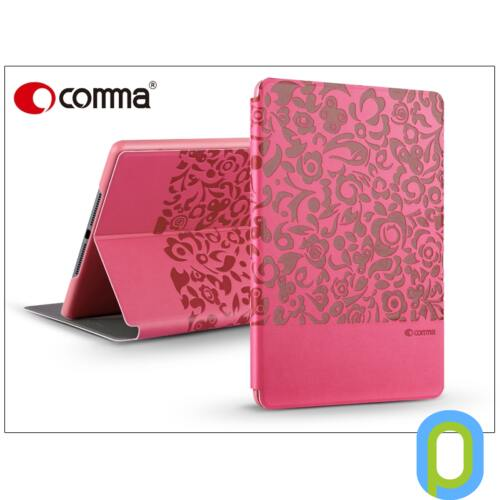 Apple iPad Air 2 védőtok (Book Case) on/off funkcióval - Comma Charming - pink