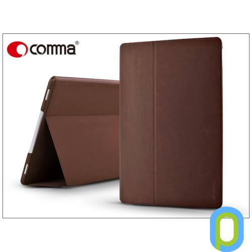 Apple iPad Pro 12.9 védőtok (Book Case) on/off funkcióval - Comma Elegant Series - brown