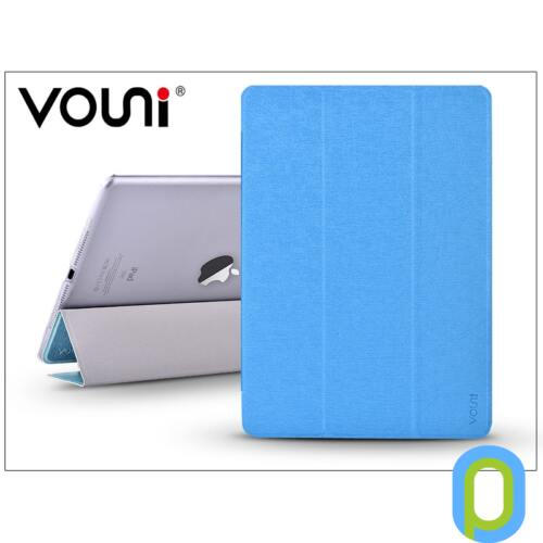 Apple iPad Air 2/iPad Pro 9.7 védőtok on/off funkcióval - Vouni Simple Grace - blue