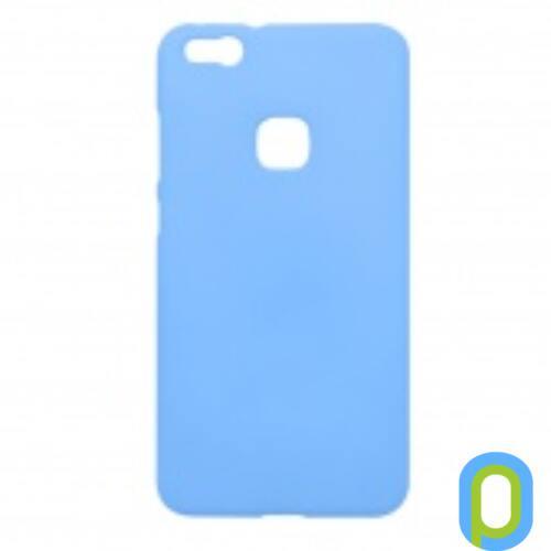 Huawei P10 Lite Prémium Neon  Szilikon tok, kék