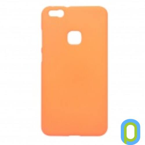 Huawei P10 Lite Prémium Neon  Szilikon tok, narancs