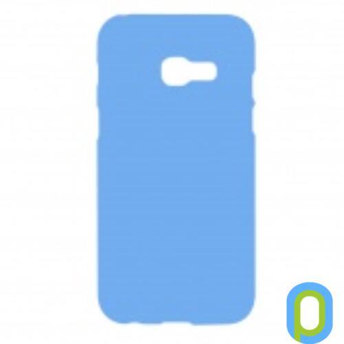 Samsung Galaxy A3 (2017) A320 Prémium Neon Szilikon tok, kék