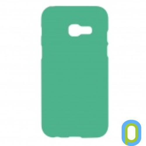 Samsung Galaxy A5 (2017) A520 Prémium Neon Szilikon tok, zöld