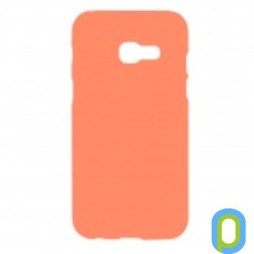 Samsung Galaxy A5 (2017) A520 Prémium Neon Szilikon tok, narancs