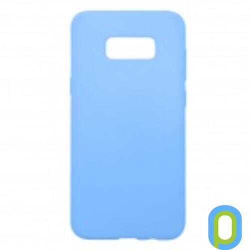 Samsung Galaxy S8+ G955 Prémium Neon Szilikon tok, kék